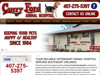 Curry Ford Animal Hospital and Pet Boarding Center Orlando