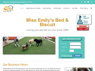 Miss Emilys Bed & Biscuit | Boarding