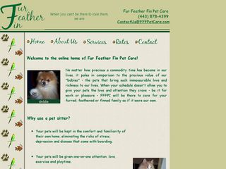 Fur Feather Fin Pet Care | Boarding