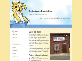 Perfectpaws Doggie Spa Oxon Hill
