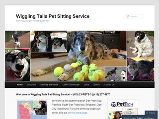 Wiggling Tails Pet Sitting Service | Boarding