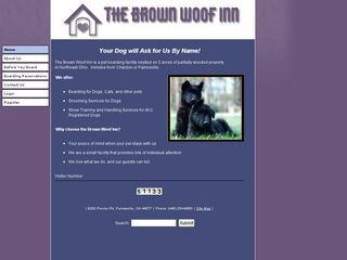 Brown Woof Inn | Boarding