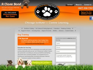 A Closer Bond Dog Training Palatine