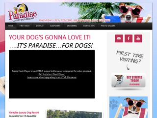 Paradise Luxury Dog Resort Palm Bay