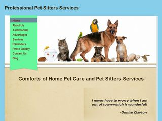 Comforts of Home Pet Care Palm Harbor
