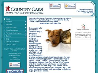 Country Oaks Animal Hospital Palm Harbor