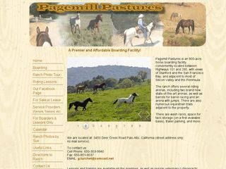Page Mill Pastures | Boarding
