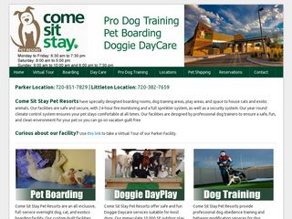 Come Sit Stay Pet Resort | Boarding