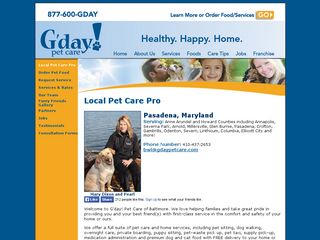 G'day Pet Care Pasedena Pasadena