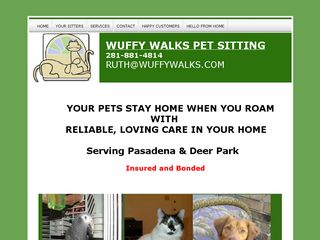 Wuffy Walks Pasadena