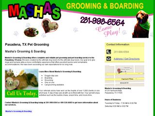 Photo of Mashas Grooming & Boarding in Pasadena