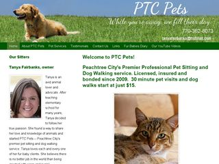PTC Pet Services Peachtree City