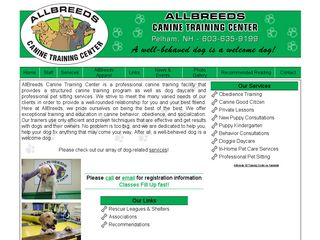 Allbreeds Canine Training Center | Boarding
