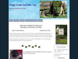 Photo of Ridge Crest Kennels in Pennsburg