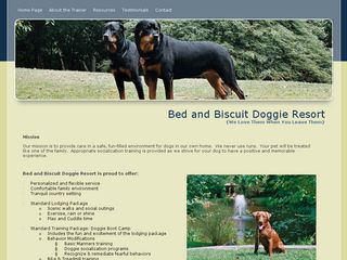 Bed & Biscuit Doggie Resort | Boarding