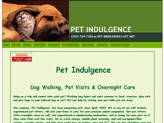 Pet Indulgence | Boarding