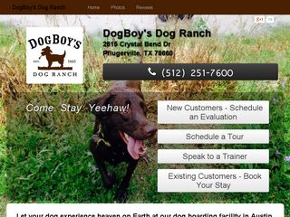 Dogboys Dog Ranch Pflugerville