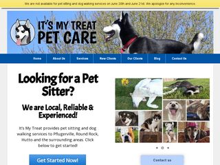 Its My Treat Pet Care Pflugerville