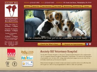 Society Hill Veterinary Hospital | Boarding