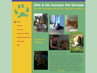 Otto  His Humans Pet Services | Boarding