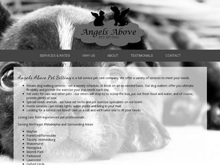 Angels Above Pet Sitting Philadelphia