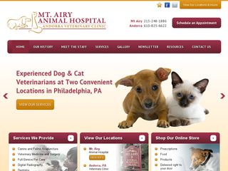 Mt. Airy Animal Hospital Philadelphia