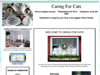 Caring For Cats Philadelphia