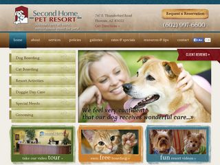 Second Home Pet Resort Phoenix