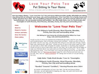 Love Your Pets Too | Boarding
