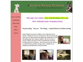 Andys Furry Friends | Boarding