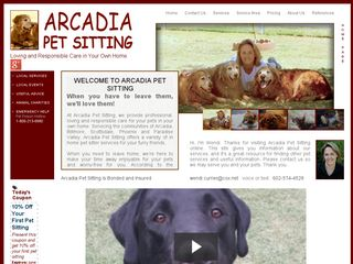 Arcadia Pet Sitting | Boarding