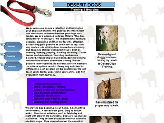 Desert Dog Training & Boarding | Boarding