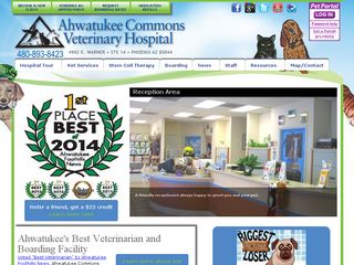 Ahwatukee Commons Veterinary Hospital | Boarding