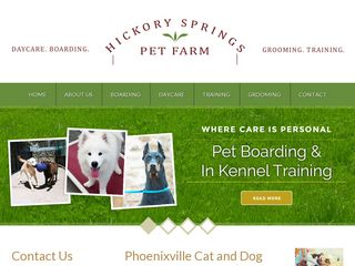 Hickory Springs Farm Kennel | Boarding