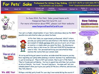 For Pets Sake Phoenixville