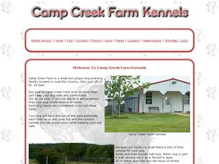 Camp Creek Farms | Boarding