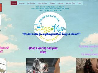 Wags N Kisses Pet Sitters | Boarding