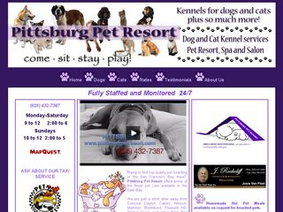 Pittsburg Pet Resort | Boarding