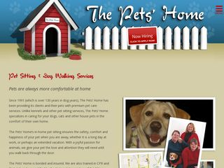 The Pets Home | Boarding