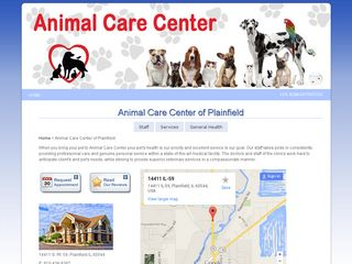 Animal Care Center of Plainfield | Boarding