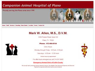 Companion Animal Hospital | Boarding