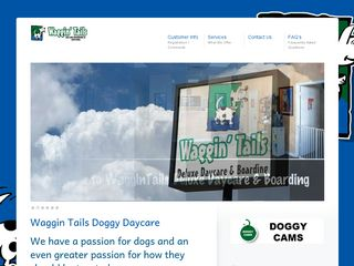 Waggin Tails Dog Daycare  Boarding Plano