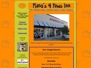 Planos 4 Paws Inn | Boarding