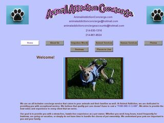 Animal Addiction Concierge Plano