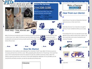 Metro Pet Services | Boarding