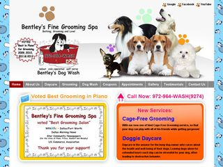Bentleys Dog Wash | Boarding