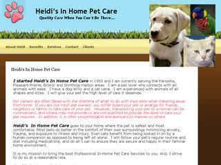 In Home Pet Care Pleasant Prairie