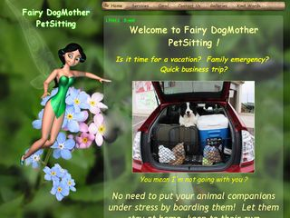 Fairy DogMother Petsitting Poetry