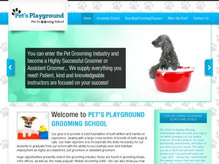 Pets Playground Grooming School | Boarding