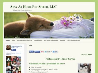 Stay at Home Pet Sitter LLC | Boarding